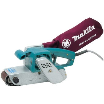 Makita 850W Belt Sander with Dust Bag 76mm
