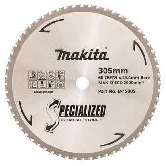 Makita Metal Cut Circular Saw Blade 60T 305mm