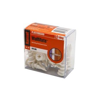 Ramset WallMate Nylon Pack 20 - 20 Pack