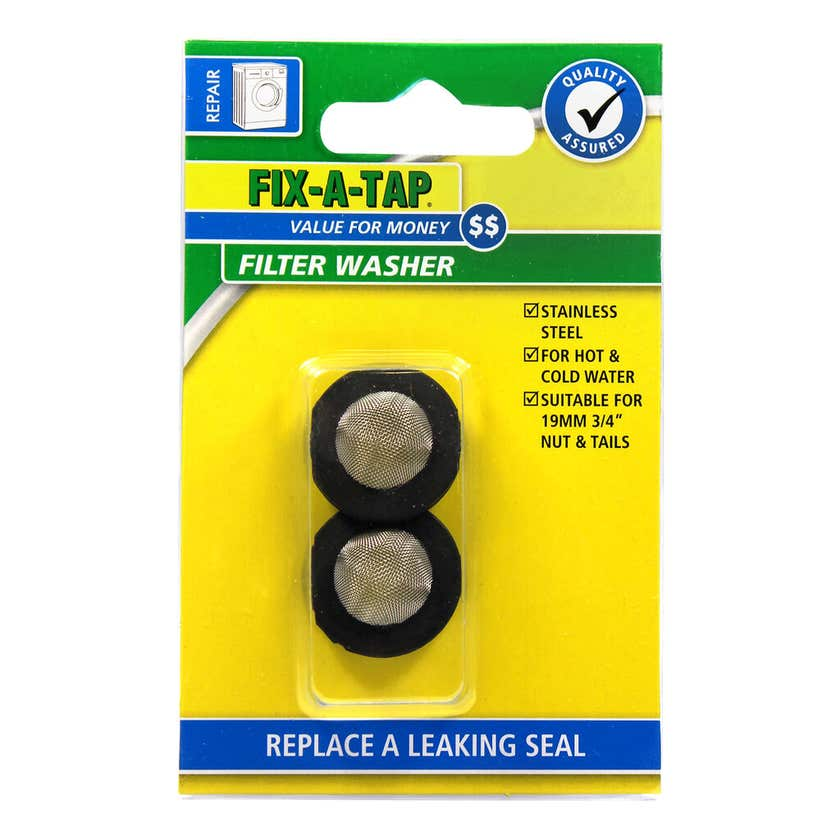 FIX-A-TAP Stainless Steel Filter Washer 19mm
