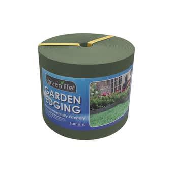 Greenlife Plastic Garden Edging Eucalypt 150mm x 10m