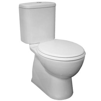Marbletrend Milano Close Coupled Toilet Suite - P Trap