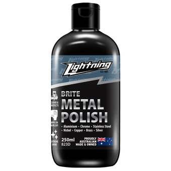 Lightning Brite Metal Polish 250ml