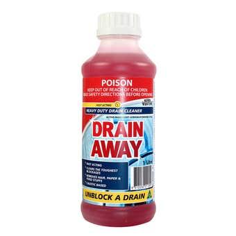 BOSTON Drain Away Heavy Duty Drain Cleaner 1L