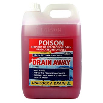 BOSTON Drain Away Heavy Duty Drain Cleaner 5L
