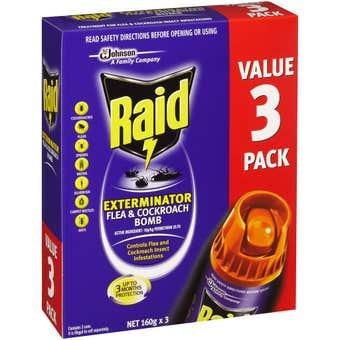 Raid Control Bombs 3 x 160g