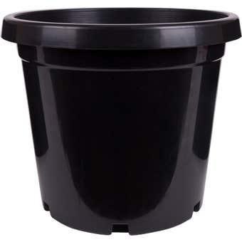 Décor Growers Pot Black 300mm
