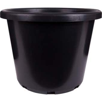 Décor Growers Pot Black 400mm