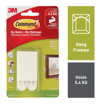 Command Picture Hanging Strips Medium - 4 Pack