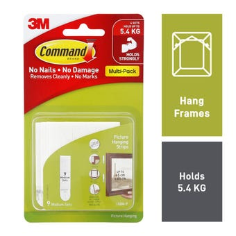 Command Picture Hanging Strips Medium - 8 Pack