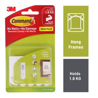 Command Picture Hanging Strips Small - 8 Pack