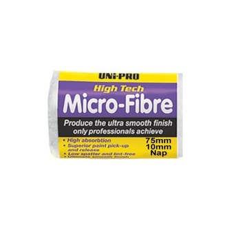 Uni-Pro Micro-Fibre Roller Cover 75mm 10mm Nap
