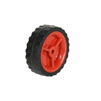 Cold Steel Plastic Wheel with Red Centre 95mm
