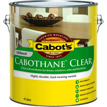 Cabot's Cabothane Oil Based Matt Clear 4L