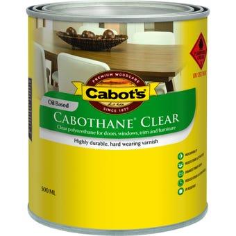Cabot's Cabothane Clear Oil Based Matt 500ml