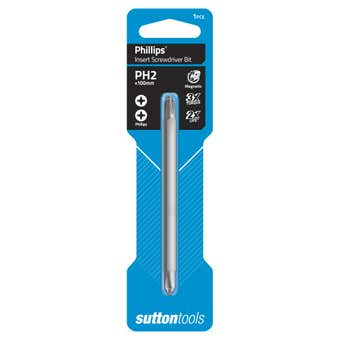Sutton Tools Screwdriver Bit Phillips Double Ended PH2