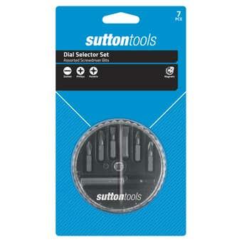 Sutton Tools Screwdriver Bit Dial Selector Set - 7 Piece