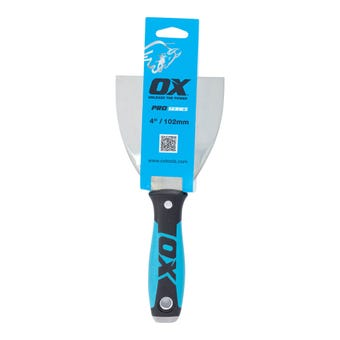 Ox Plaster Joint Knife Stainless Steel 102mm