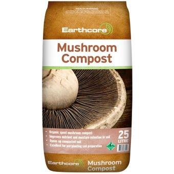 Earthcore Mushroom Compost 25L
