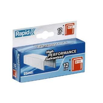 Rapid Staple No.53 12mm - Box of 2500