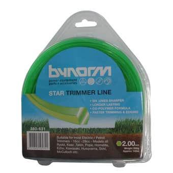 Bynorm Star Trimmer Line Green 2mm 500g