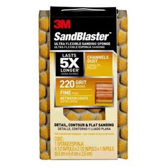Sandblaster Ultra-Flexible Sanding Block 220g