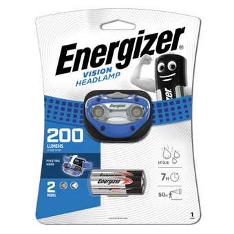 Energizer Vision Headlamp 200 Lumens