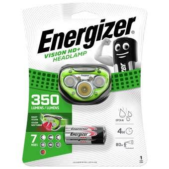 Energizer Vision HD + Headlamp 350 Lumens