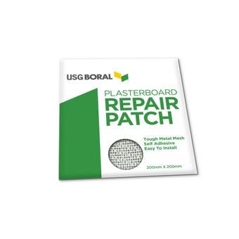 USG Boral Plasterboard Repair Patch 200mm x 200mm