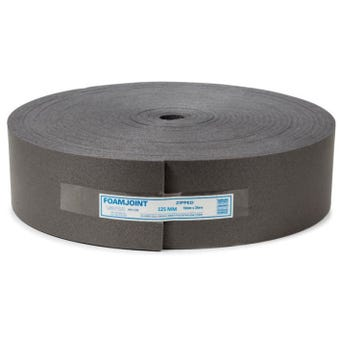 Foamjoint Polyethylene Foam Expansion Jointing 125mm x 10mm x 25m