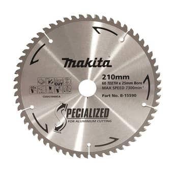Makita TCT Circular Saw Blade for Aluminium 60T 210mm