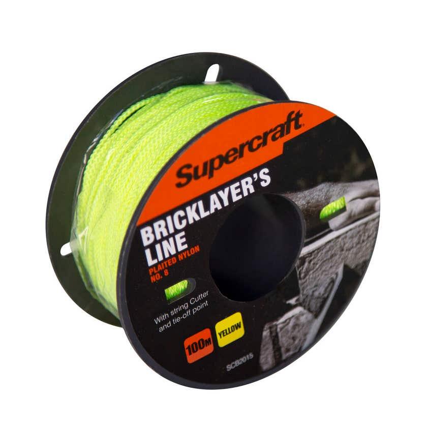Supercraft Brickline Yellow 100m