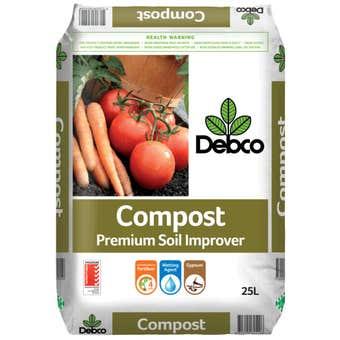 Debco Premium Compost Soil Improver 25L