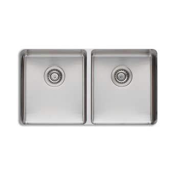 Oliveri Sonetto Double Bowl Undermount Sink