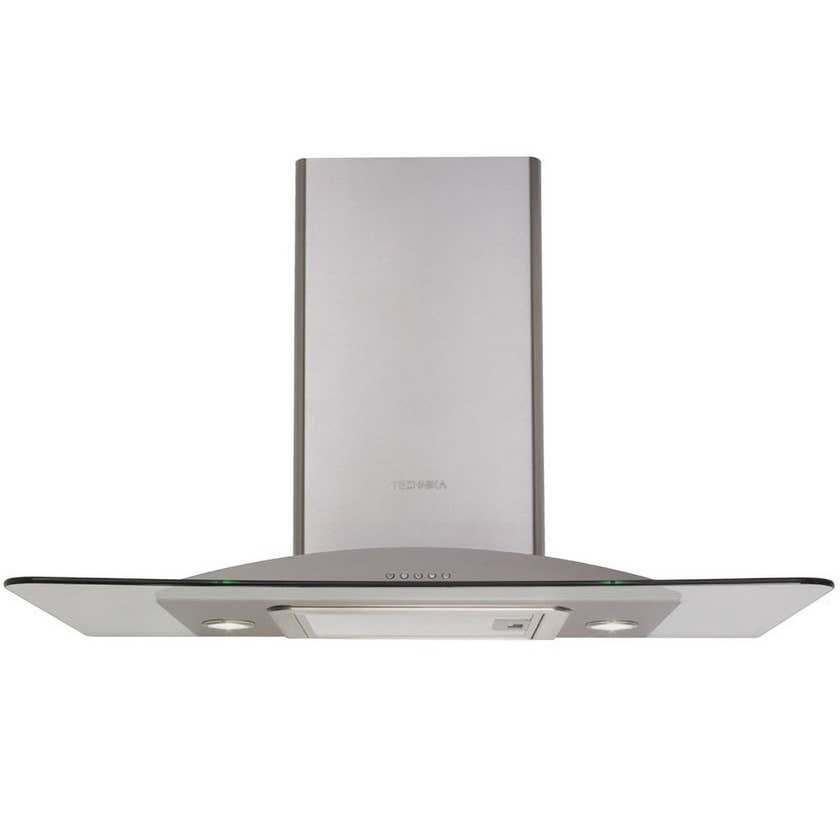 Technika Glass Canopy Rangehood Stainless Steel 900mm
