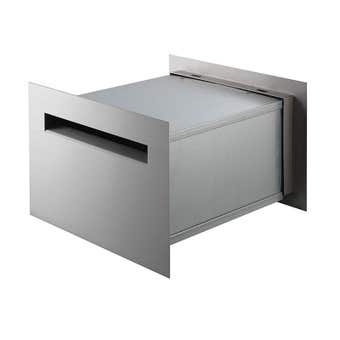 Sandleford Jet Rear Opening Letterbox Stainless Steel