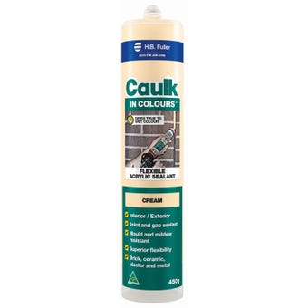 HB Fuller Caulk In Colours™ Cream 450g