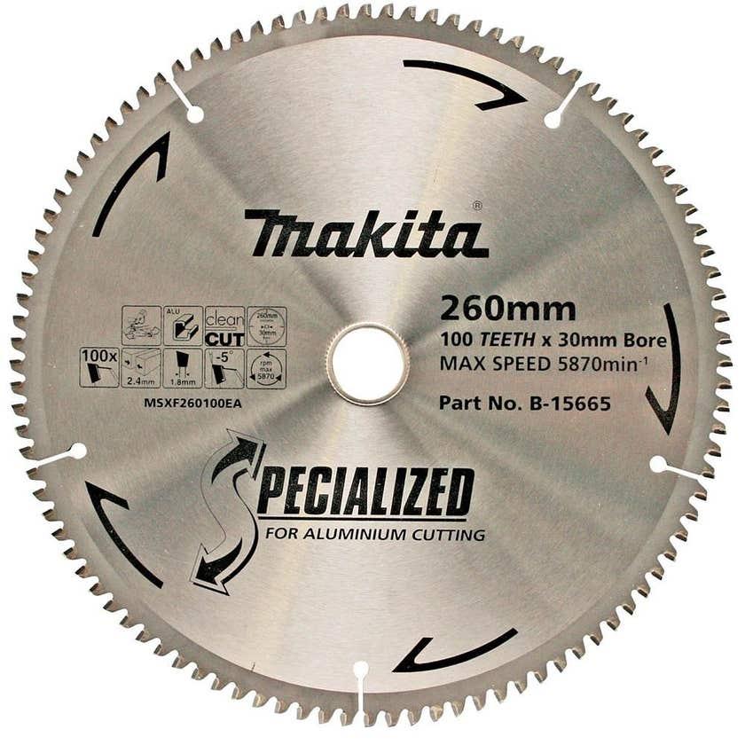 Makita Circular Saw Blade Specialized for Aluminium