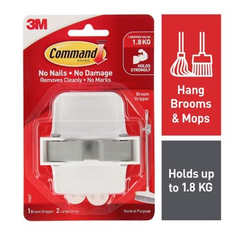 Command Broom Gripper - 1 Pack