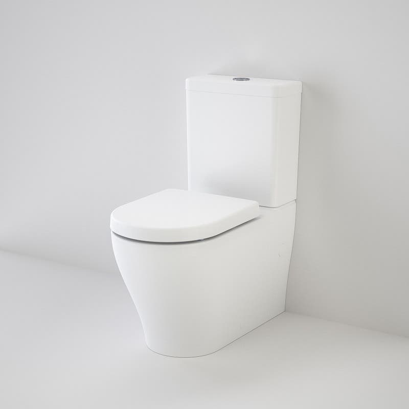 Caroma Luna Wall Faced Toilet Suite - Back Entry