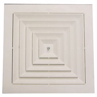 Haron Ceiling Vent White 270 x 270mm