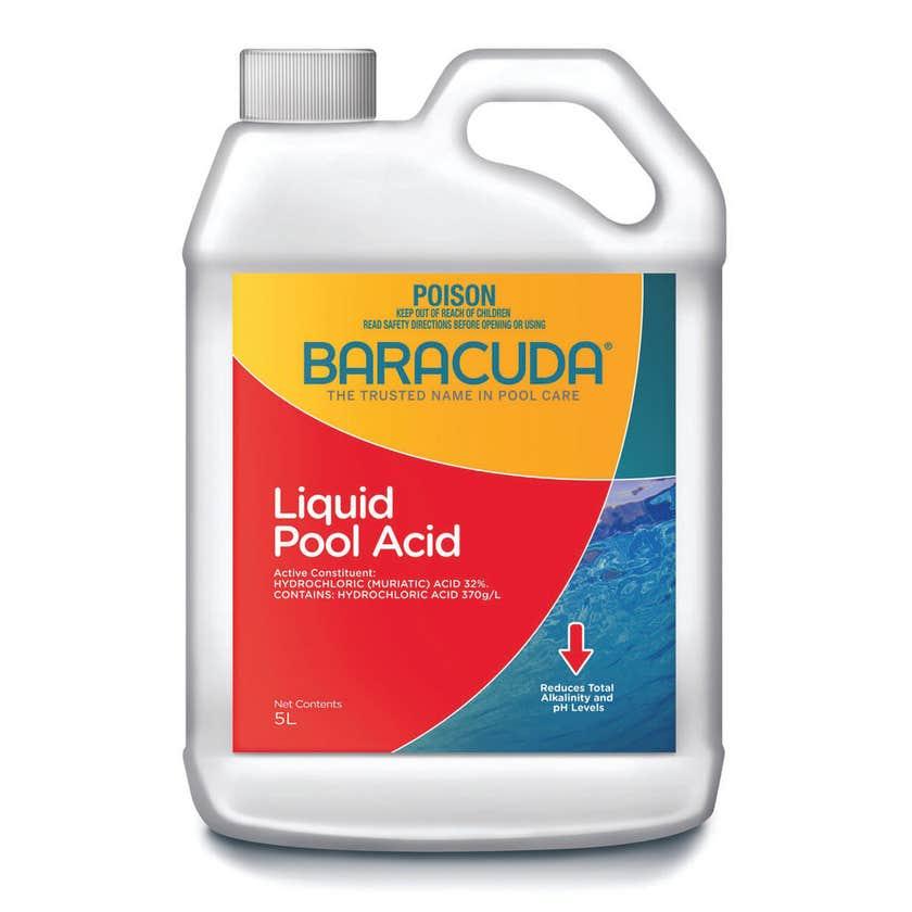 Baracuda Liquid Pool Acid 5L