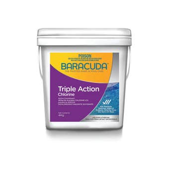 Baracuda Triple Action Chlorine 4kg