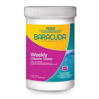 Baracuda Weekly Chlorine Tablets 1Kg