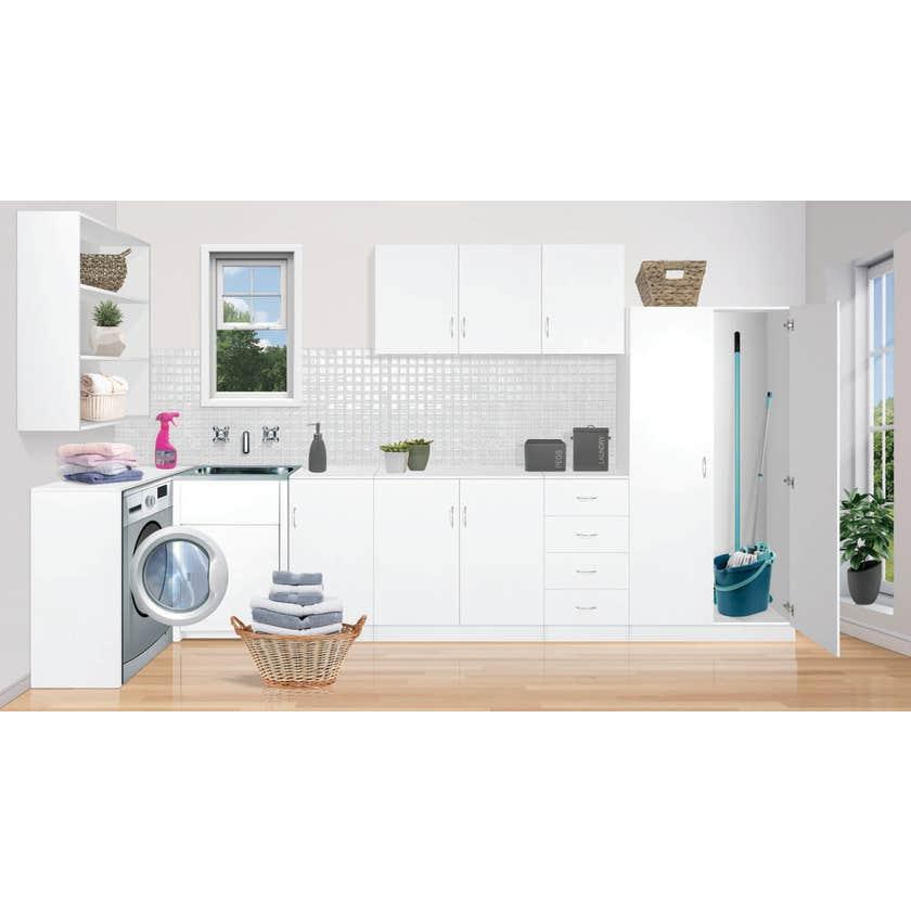 Faulkner 2 Door 4 Shelf Utility Cabinet 900mm