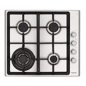 Baumatic Gas Cooktop 4 Burner 600mm