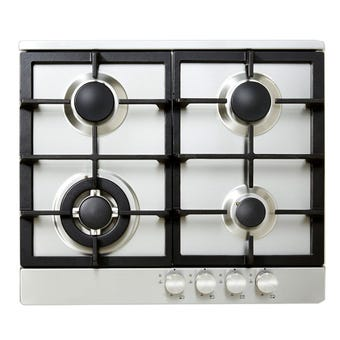 Venini Gas Cooktop Stainless Steel 600mm