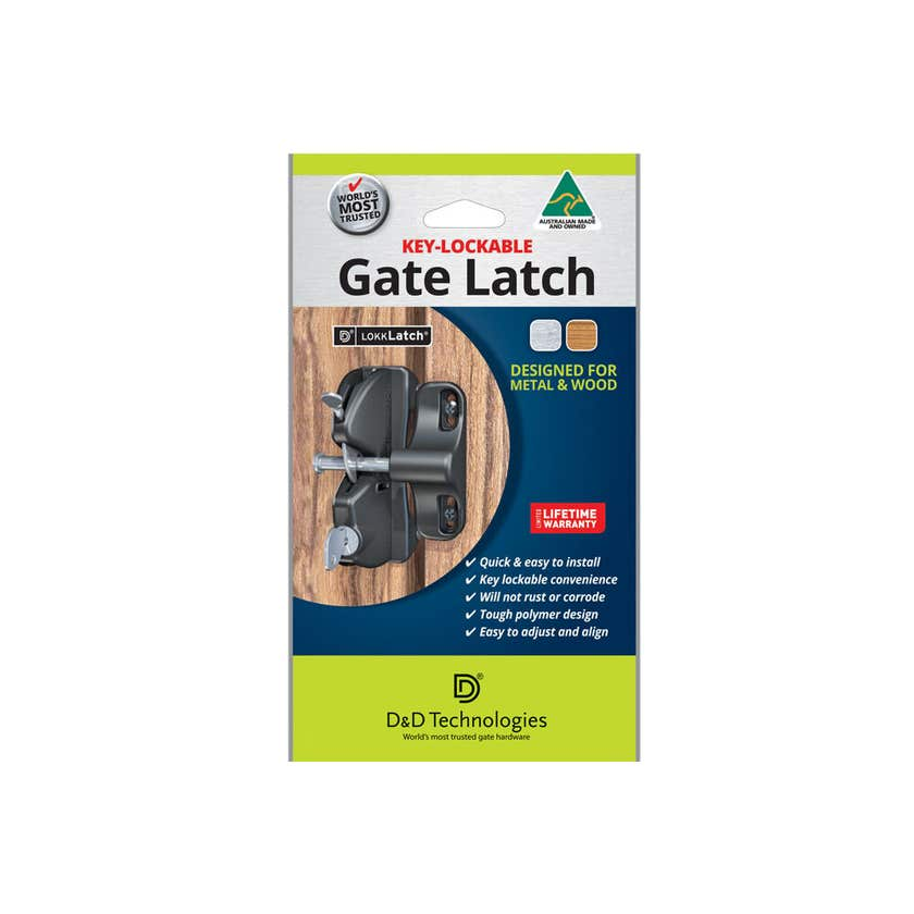 D&D Technologies General Purpose Gate Latch