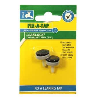 FIX-A-TAP Leaklock Tap Valve 13mm - 2 Pack