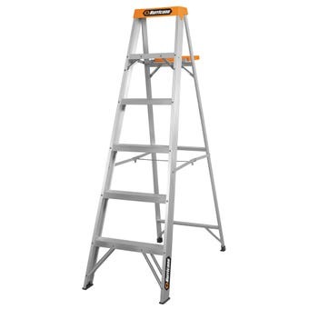 Hurricane™ 1.8m Single Sided Ladder with Tool Tray 120kg Domestic